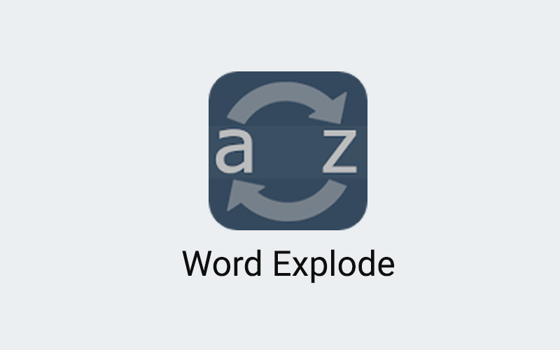 Word Explode